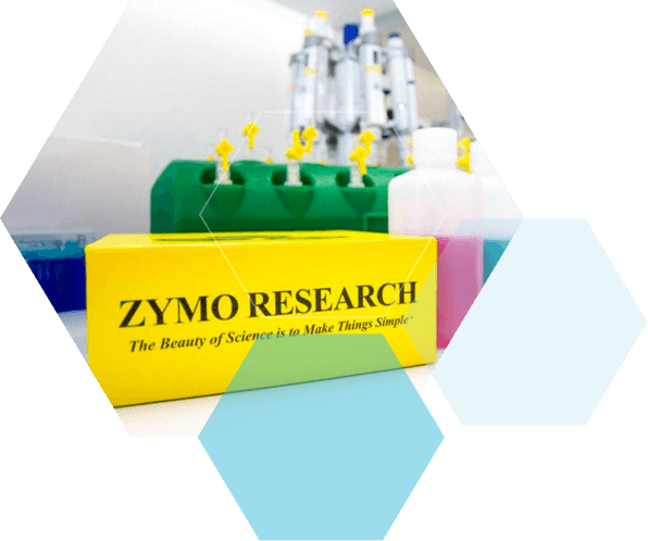 Zymo Research with BaseClear visuals
