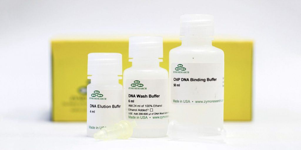 Zymo gDNA clean-up